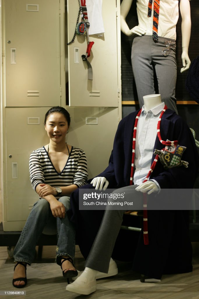 Hong Kong Polytechnic University Fashion Design Student Ronnie Tung News Photo Getty Images