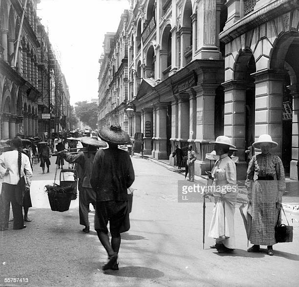 1800 S Colonial Scene On Demand: 1800s Hong Kong Stock Photos And Pictures
