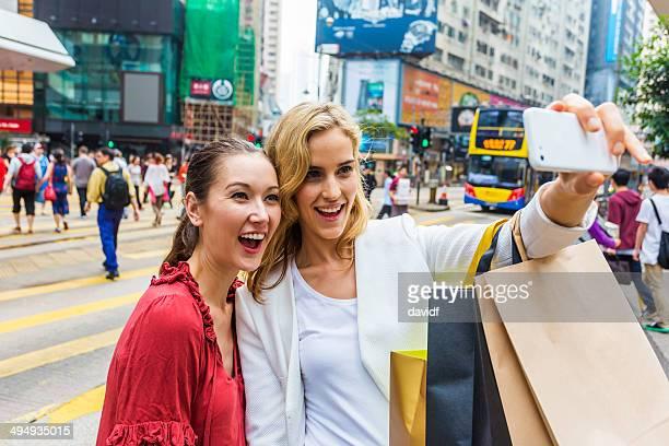 Hong Kong Shopping Selfie Women