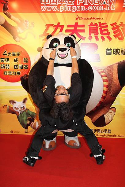 kung fu panda 2 hong kong premiereの写真およびイメージ ゲッティ