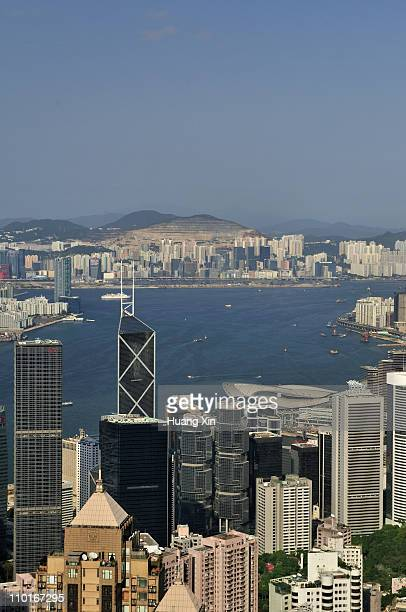 Hong Kong Skyline for Victoria Harbour & Wan Chai