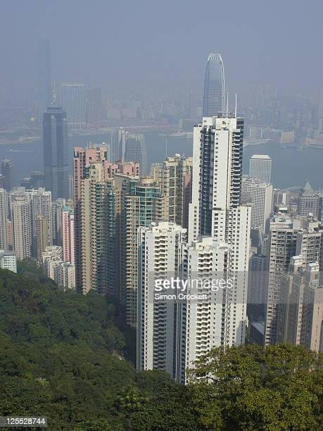 Hong Kong skyline from Peak tower