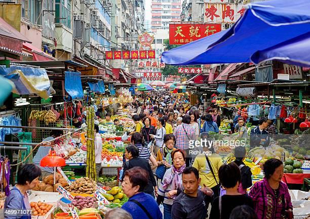 Marché à Hong Kong