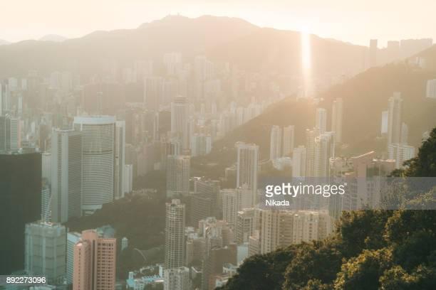 Hong Kong Sonnenaufgang