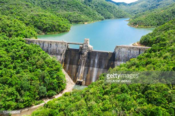 hong kong tai tam reservoir - reservoir stock pictures, royalty-free photos & images