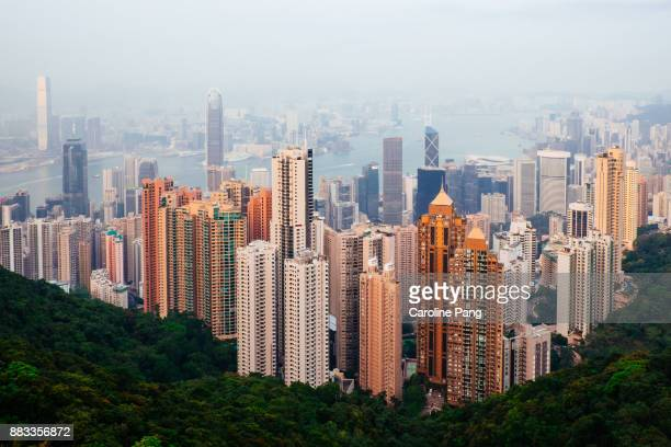 Hong Kong, the view from Victoria Peak.