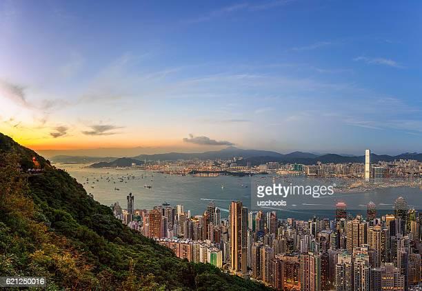 Puerto Victoria de Hong Kong