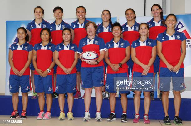 Hong Kong Women's Sevens squad Sham Waishum Candy Cheng Tszting Emmy Chan Hoiping Anna Richards Royce Chan Leongsze Lindsay Varty Stephanie Cuvelier...