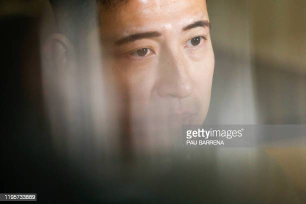 Hong Kong writer and activist Jason Y. Ng gives an interview with AFP in Barcelona on January 23, 2020.