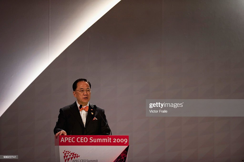 APEC CEO Summit Takes Place In Singapore - Day 1