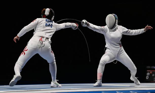 JPN: Fencing - Olympics: Day 1