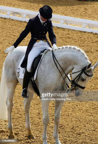 Hong Kong's Jacqueline Siu WingYing during the Dressage in Equestrian at the 15th Asian Games 2006 Doha Qatar 05 December 2006