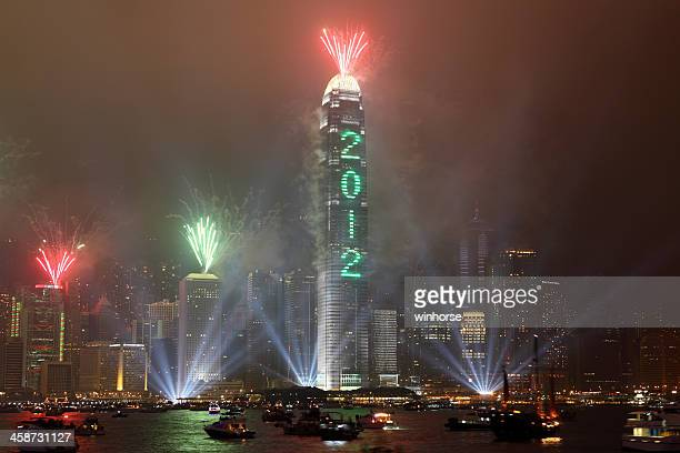 Hong Kong's New Year Countdown Celebration