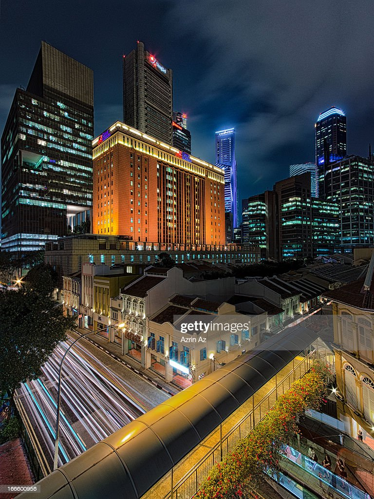 Hong Lim Urban River : Stock Photo