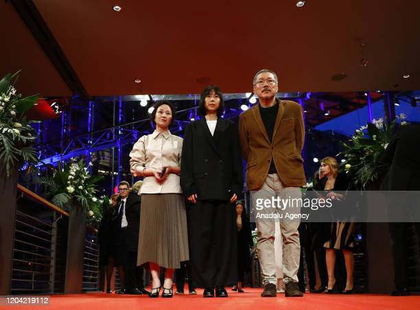 Hong Sangsoo attends the award ceremony of 70th Berlinale International Film Festival in Berlin Germany on February 29 2020