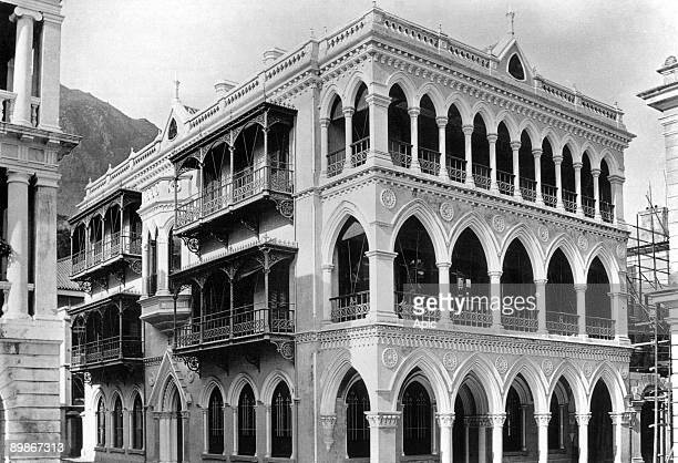 HongKong colonial architecture with italian echoes Club Germania on waterfront c 1890