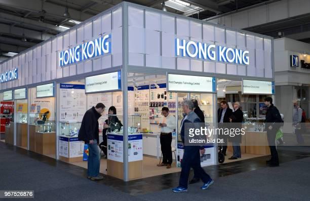 Hongkong Messestand Cebit Hannover Niedersachsen Deutschland