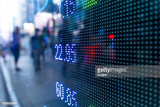 Currency Exchange Board Stock Pictures