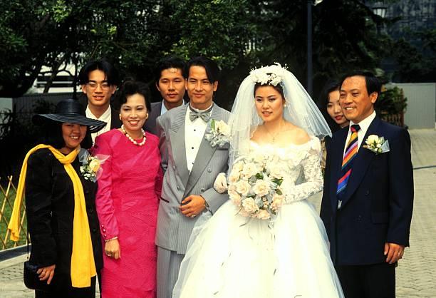 Hongkong China Asien Reise Hochzeitszeremonie Im Hongkong Par