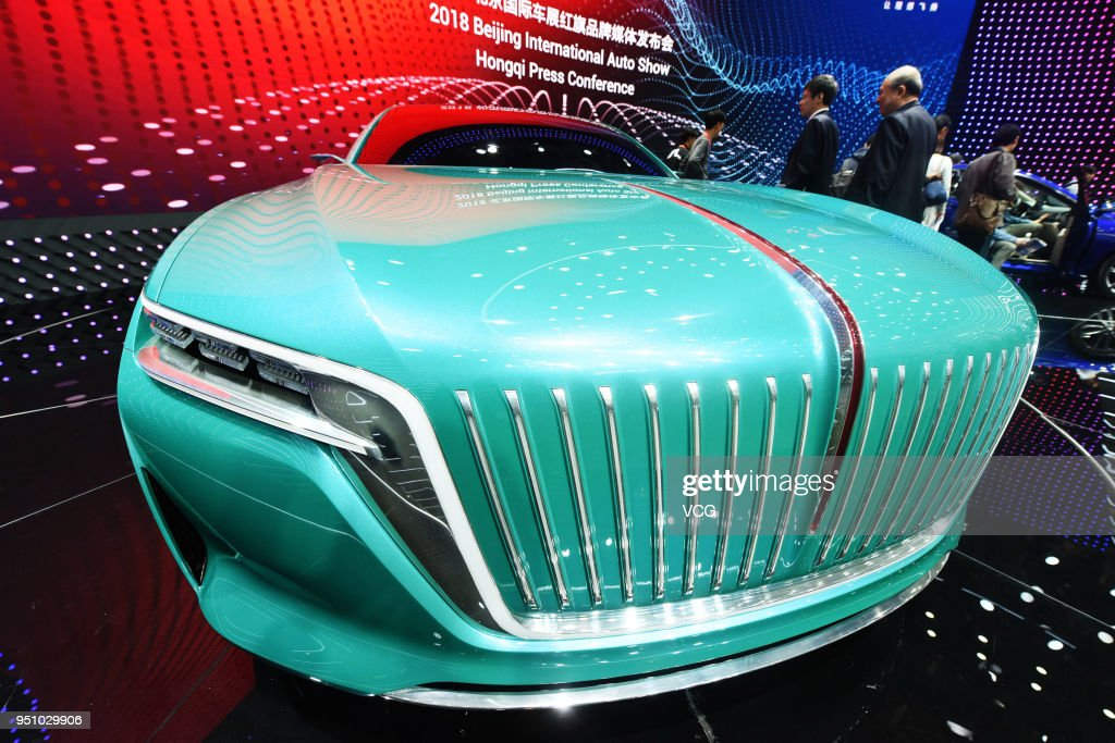 Luxury Concept Cars On Show In Beijing