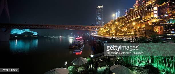 Hongyadong and Chongqing Grand Theatre