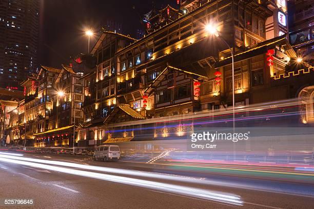 Hongyadong Night Traffic