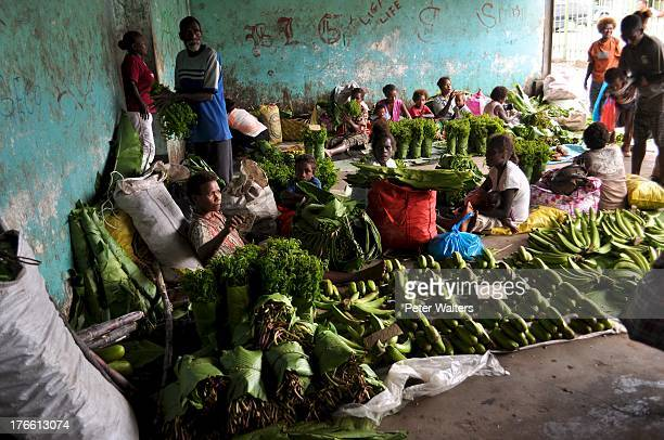 CONTENT] Honiara central produce market Solomon Islands