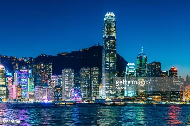Honk Kong Financial District