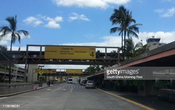 Honolulu Airport where Snowden went to catch a Hong Kongbound plane in May 2013 20MAY14