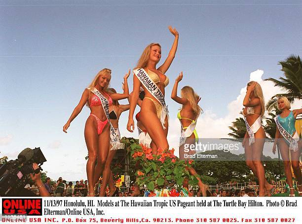 Honolulu HI Models at The Hawaiian Tropic US Pageant held at The Turtle Bay Hilton