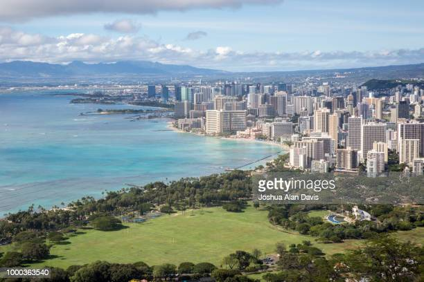 honolulu - joshua alan davis stock pictures, royalty-free photos & images
