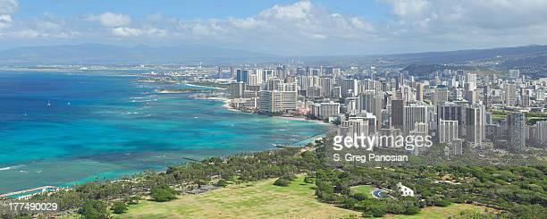 Honolulu Skyline Panorama