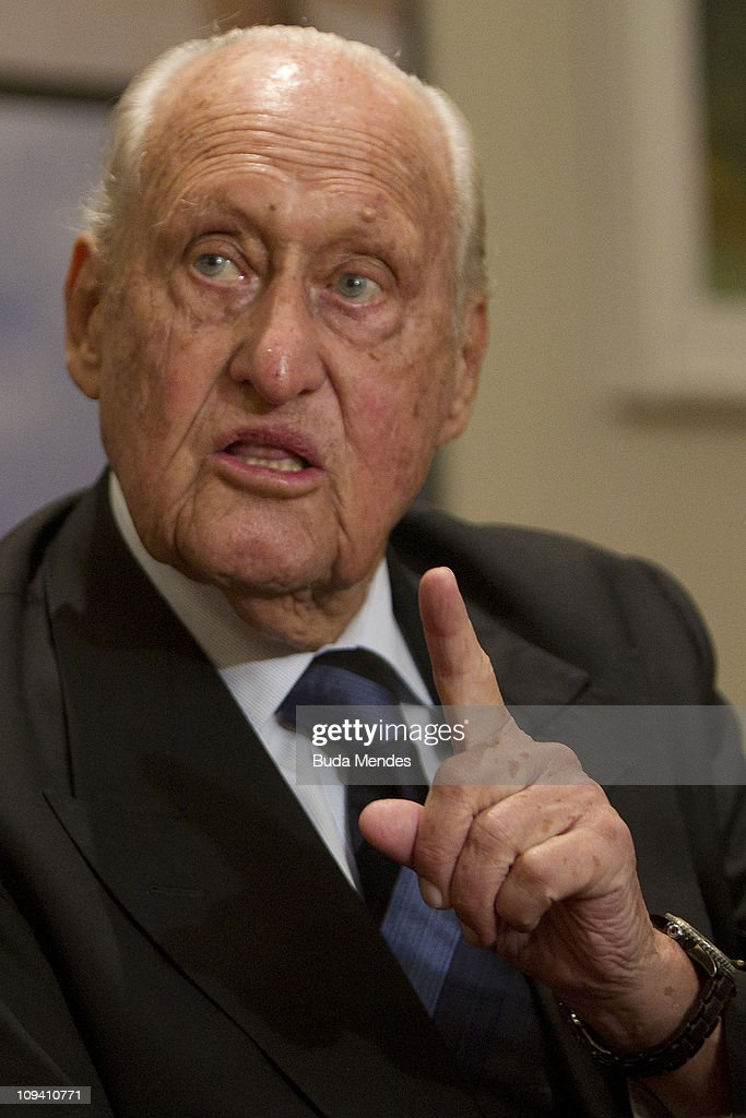 FIFA Honorary President Joao Havelange - Book Release : News Photo