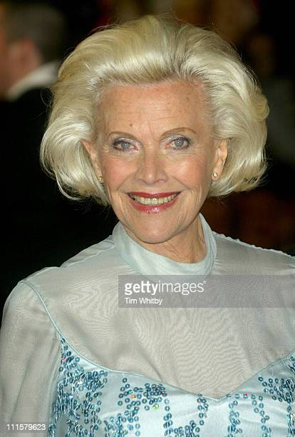 Honor Blackman during Shall We Dance London Premiere Arrivals at Odeon West End in London Great Britain