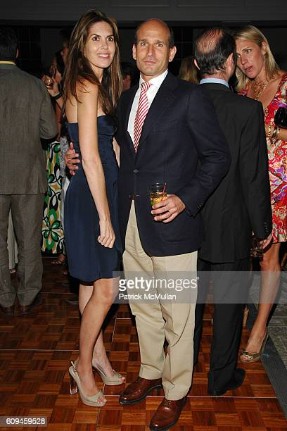 Honor Brodie and John Brodie attend THE BEACH BALL Annual Spring Fundraiser hosted by JCrew The Associates Committee of THE SOCIETY OF MEMORIAL...