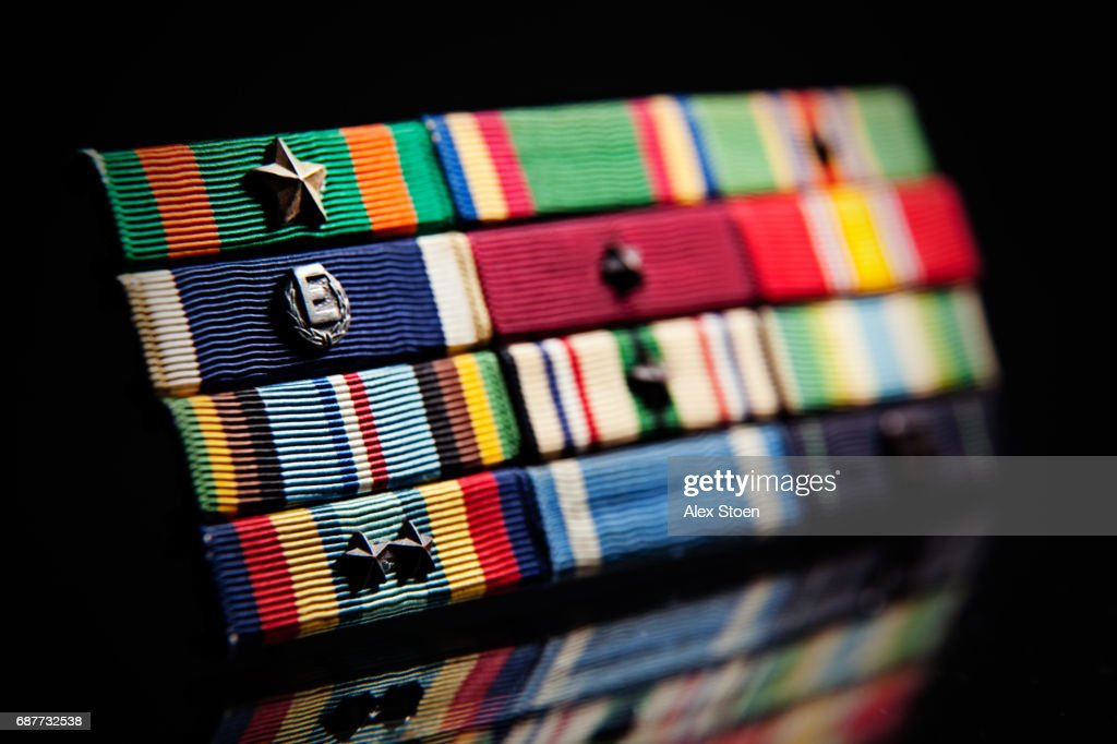 Honor, Courage, Commitment : Stock Photo