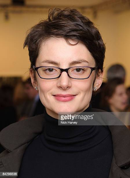 Honor Fraser attends Tierney Gearon Reception at Phillips de Pury on January 14 2009 in London
