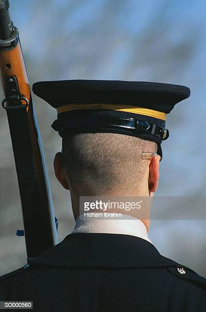 honor guard - uniform cap stock pictures, royalty-free photos & images