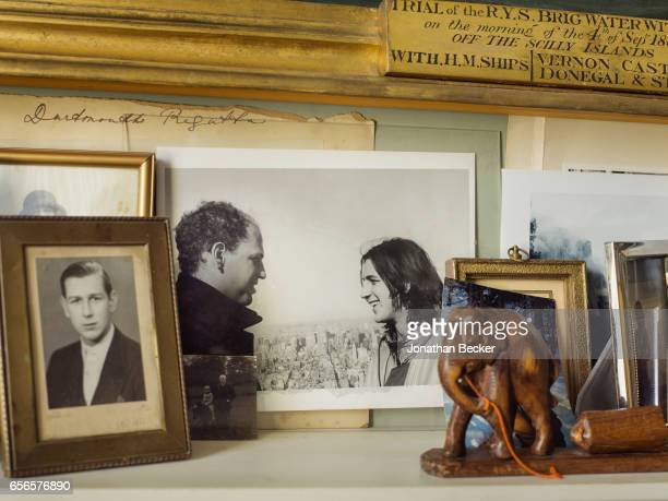 Honorable Nicholas AshleyCooper Earl of Shaftesbury family photos at St Giles House are photographed on September 9 2015 in Dorset England Family...