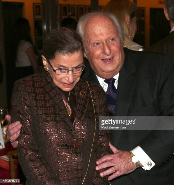 Honorable Ruth Bader Ginsburg Associate Justice of Supreme Court of the United States and Barry Tucker President of the Richard Tucker Music...