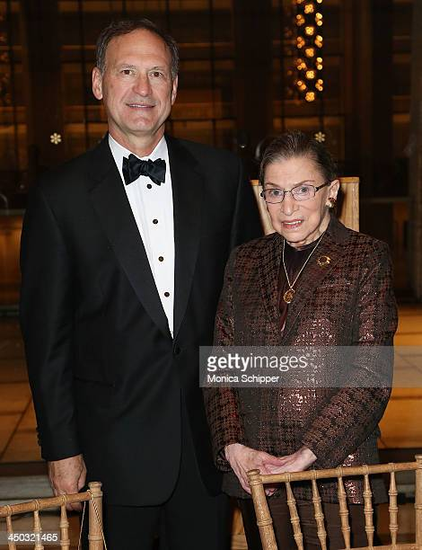 Honorable Samuel Alito Jr Associate Justice of Supreme Court of the United States and Honorable Ruth Bader Ginsburg Associate Justice of Supreme...