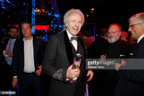 Honorary award winner Thomas Gottschalk attends the German Television Award at Palladium on January 26 2018 in Cologne Germany