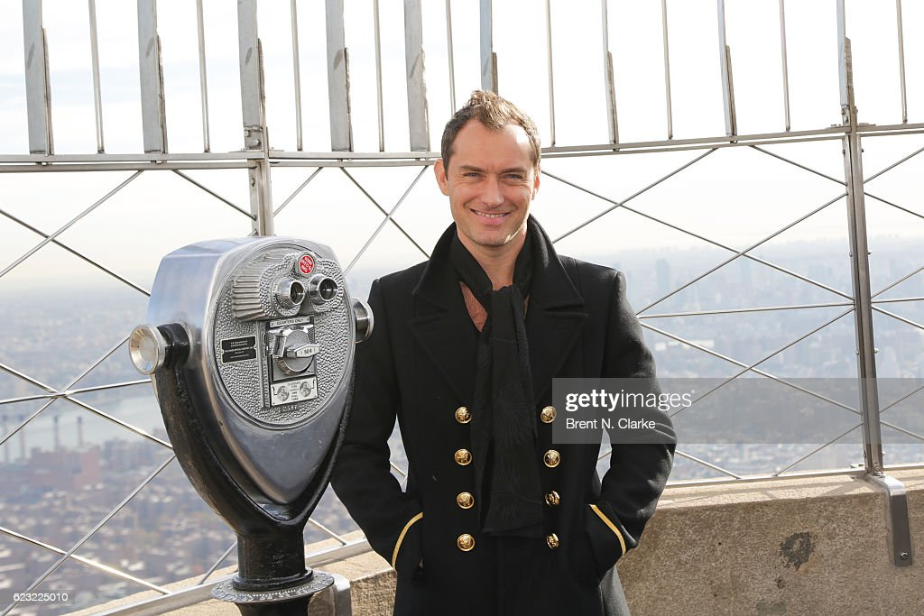 Jude Law Lights The Empire State Building In Honor Of Only Make Believe