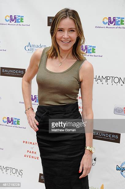 Honorary Chair Christa Miller attends the Children's Museum of the East End's 7th Annual Family Fair at Children's Museum of the East End on July 18...