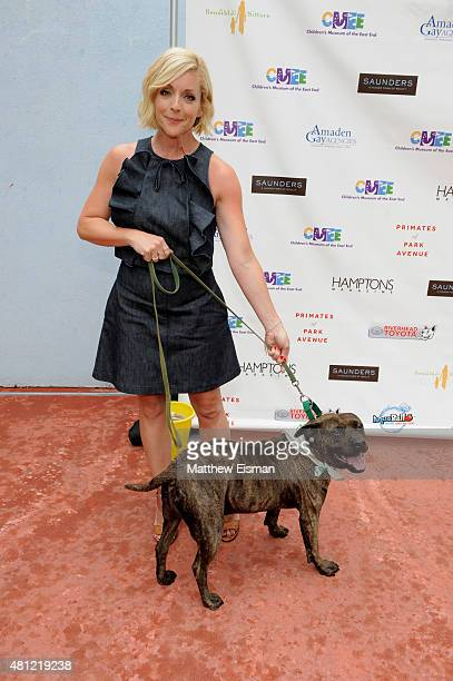 Honorary Chair Jane Krakowski attends the Children's Museum of the East End's 7th Annual Family Fair at Children's Museum of the East End on July 18...