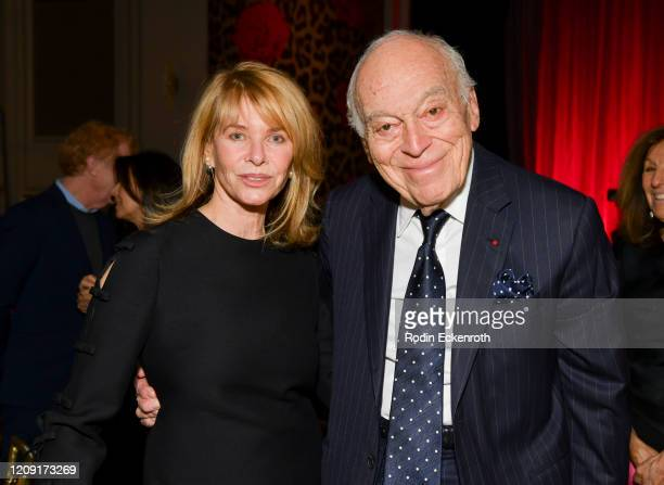 Honorary chair Kate Capshaw and gala co-chair Leonard A. Lauder pose for portrait at The Women's Cancer Research Fund's An Unforgettable Evening 2020...