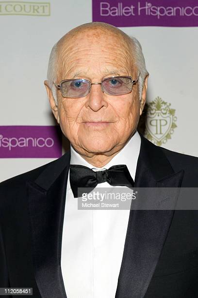 Honorary Chair Norman Lear attends the Ballet Hispanico 40th Anniversary Spring Gala at Manhattan Center Grand Ballroom on April 12 2011 in New York...