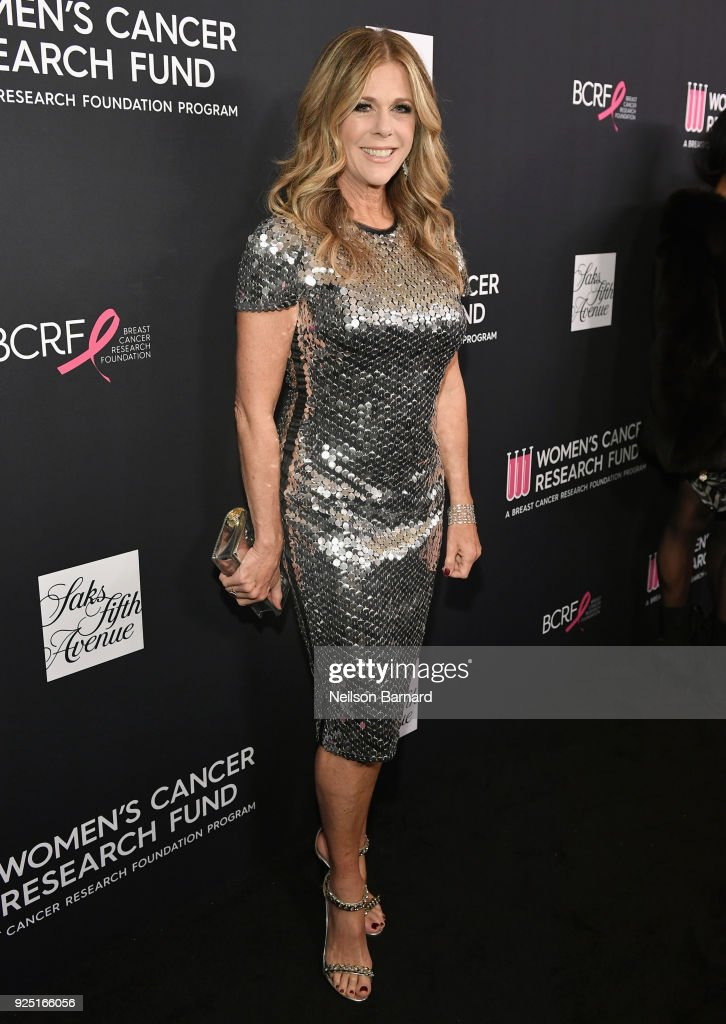 Honorary chair Rita Wilson attends WCRF's 'An Unforgettable Evening' Presented by Saks Fifth Avenue on February 27, 2018 in Beverly Hills, California.