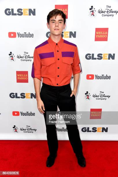 Honorary CoChair Connor Franta at the 2017 GLSEN Respect Awards at the Beverly Wilshire Four Seasons Hotel on October 20 2017 in Beverly Hills...