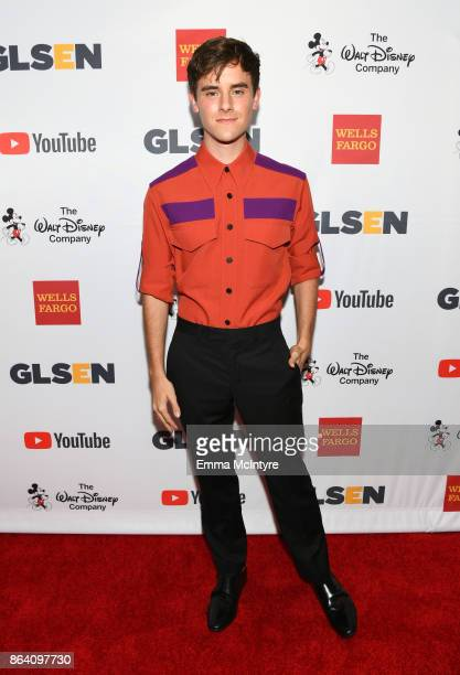Honorary CoChair Connor Franta at the 2017 GLSEN Respect Awards at the Beverly Wilshire Hotel on October 20 2017 in Los Angeles California